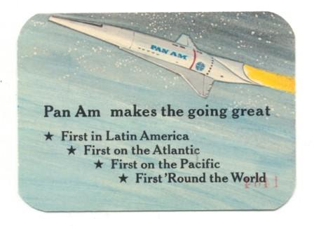 Pan Am - Moon Flight Ticket (Back)